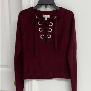 NYTT Burgundy Sweater